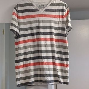 Other - V-neck stripped shirt